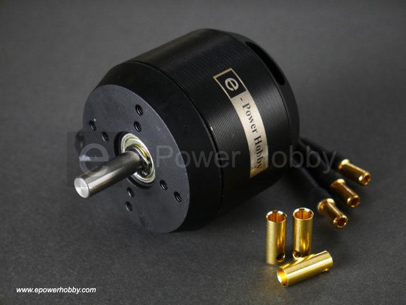 E power hobby 6354 outrunner brushless motor 60kv 2450w for Are brushless motors better